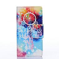 Campanula Painted PU Phone Case for Galaxy J5/J3/Galaxy On5