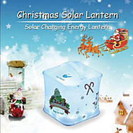 Oldshark Waterproof Inflatable Solar Powered Lantern Outdoor Emergency LED Camping Light Solar Charge
