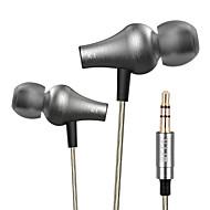alkuperäinen vjjb K1 langallinen 3,5 mm hi-fi stereo metalli kuulokkeet ammatillinen konsertti melu eristää basso iPhone 6 / 6plus