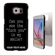 Personalized Case - Fuck Letter Design Metal Case for Samsung Galaxy S6/ S6 edge/ note 5/ A8 and others