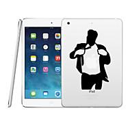 Transparent Creative PC Hard Back Case for iPad Air