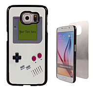 Personalized Case - Game Console Design Metal Case for Samsung Galaxy S6/ S6 edge/ note 5/ A8 and others