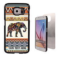Personalized Case - Elephant Design Metal Case for Samsung Galaxy S6/ S6 edge/ note 5/ A8 and others
