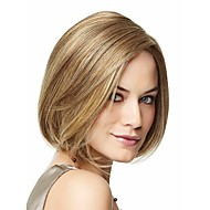 Beautiful And Charming European  Lady Women Syntheic  Wave  Wig Extensions Blonde Wig