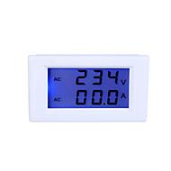 Digital LCD Voltage Meter Ammeter Voltmeter with Current Transformer AC80-300V 0-50.0A Dual Display