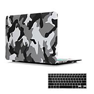 """2 σε 1 ματ επιφάνεια κρυστάλλου καουτσούκ σκληρή κάλυψη περίπτωσης για το MacBook Air 11 """"/ 13"""" + πληκτρολόγιο κάλυψη"""