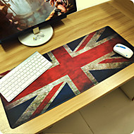 British flag Customized Rectangle Non-Slip Rubber Super Large Size Gaming Mouse Pad Mat  (67*30*0.3cm)