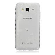 Voor Samsung Galaxy hoesje Transparant / Patroon hoesje Achterkantje hoesje Vlinder TPU SamsungJ7 / J5 / J3 / J2 / J1 Ace / J1 / Grand