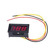 Red LED Panel Meter Mini Digital Voltmeter DC 0V To 99.9V