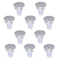 10 pcs GU10 6 W 4*COB 540 LM Warm White / Cool White MR16 Decorative Spot Lights AC 85-265 V