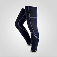 Beinlinge/Knielinge Fahhradwarm halten Windundurchlässig Anatomisches Design Fleece Innenfutter tragbar Stoßfest Reflexmaterial Dehnbar