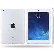 nye flerfarvet høj kvalitet gennemskinnelige TPU soft shell til iPad luft / iPad 5 (assorterede farver)