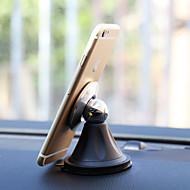 magnetisk steelie bilmontering holder med pu-pinne for samsung galaxy serien smart telefon / eple / lg / sony