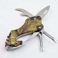moda in acciaio inox / alluminio apribottiglie lega / portachiavi / cacciavite / coltelli Multitools campeggio / outdoor