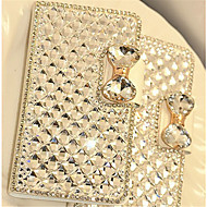 Luxury Bling Crystal Diamond Leather Flip Bag Cover For Samsung Galaxy J1/J5/J7/Core Prime/Grand Prime