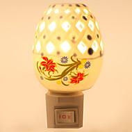 kreative Design-Keramik-Lampe Nachtlicht Nachttischlampe Duftfestivalgeschenk
