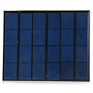 3.5W 6V USB Output Monocrystalline Silicon Solar Panel for DIY