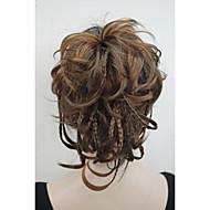 syntetisk Hestehale Naturligt, bølget hår Clip In Hestehale gram Medium (90g-120g) Mængde