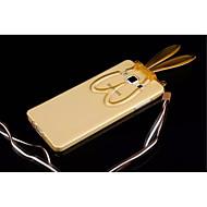 For Samsung Galaxy etui Med stativ Transparent Mønster Etui Bagcover Etui 3D-tegneserie TPU for Samsung A8 A7 A5