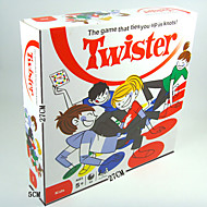klassisk twister familiespill som binder deg opp i knop brettspill