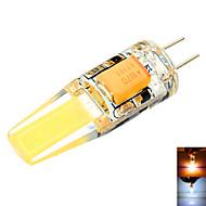 1 Stück 无 Dekorativ Bi-Pin-Lampen T G4 6 W 500-700 LM 2800-3200/6000-6500 K 2 COB Warmes Weiß / Kühles Weiß DC 12 / AC 12 / AC 24 / DC 24