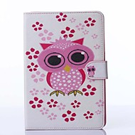 Owl Pattern PU Leather Full Body Case with Stand for iPad mini 1/2/3