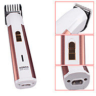 SN-6300 mini-portable électrique rechargeable tondeuse à cheveux -Gold