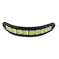 2db vízálló flexibilis szilikon 10 led 10w csutka 26cm 600lm fehér fény LED-es nappali fény (DC12V)