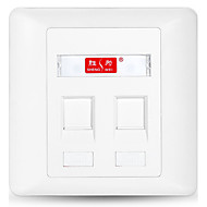 shengwei® sip-202 a 2 porte pannello prese interfaccia internet