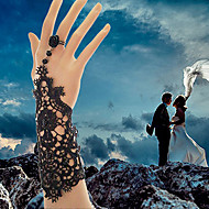 Dame Bijuterii Gothic Ring Bracelets Dantelă de Mireasă Alb Negru Bijuterii 1 buc