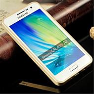 μεταλλικό πλαίσιο ακρυλικό καθρέφτη της βασικής μονάδας μεταλλικών σκληρή θήκη για το Samsung Galaxy α3