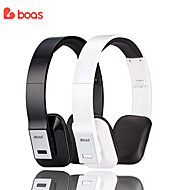 BOAS Original Foldable Wireless Stereo Wireless Bluetooth Headphones Headsets Handsfree Speaker for Mobile Iphone