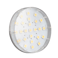 4W GX53 LED Spotlight 25 SMD 5050 260 lm Warm White AC 220-240 V