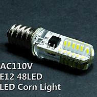 5PCS, E12,2W, 110V, LED corn lights, lights, crystal lights, a mechanical indicator, LED bulb, chandelier