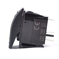 iztoss 5ピンレーザーフォグライトロッカースイッチオン・オフインストールする電線の光20aは12Vブルーを主導