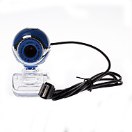 Computer-Kamera transparent Clip-on-Basis 8.0 Webcam blau