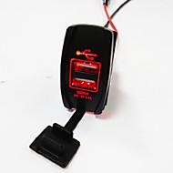 Lossmann Doppel USB-Buchse Standard-arb Carling Schalter Ausschnitte Autoboot-Ladegerät 5v 3.1a.