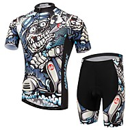 Bike/Cycling Jersey + Shorts / Shorts / Clothing Sets/Suits Men's Short SleeveBreathable / Ultraviolet Resistant / Moisture Permeability