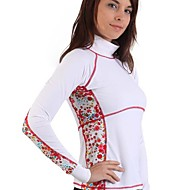 SBART Lycra Fabric Long Sleeve Women Rash Guard Swim Surfing Shirts SBART913