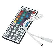 6pcs contrôleur IR avec 44 touches de la télécommande pour RGB LED 12v lumière de bande (12v 3x2a)