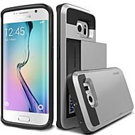 valódi Verus damda slide páncélja kártya esetében a hibrid Samsung Galaxy S6 / S6 él / S6 szélén plusz