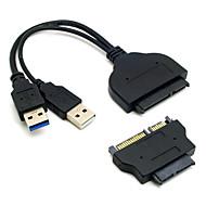 cy® doppio cavo usb 3.0 con l'adattatore micro sata
