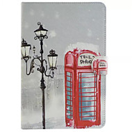 For Samsung Galaxy Case Card Holder / Wallet / with Stand / Flip / Pattern Case Full Body Case City View PU Leather SamsungTab 4 10.1 /