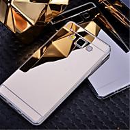 For Samsung Galaxy etui Belægning Spejl Etui Bagcover Etui Helfarve PC for Samsung A8 A7 A5 A3
