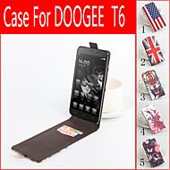 Για Θήκη DOOGEE Θήκη καρτών / Ανοιγόμενη / Με σχέδια tok Πλήρης κάλυψη tok Κινούμενα σχέδια Σκληρή Συνθετικό δέρμα Doogee