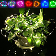 JIAWEN 5M Waterproof Flexible 3W 240lm 50-SMD 0603 LED Wire String Light - Silver (DC 12V)