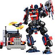 Autobot modell montere murstein toysgudi byggeklosser film transformator leketøy robot boms leketøy barn leker blebee 8713