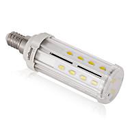 8W E14 / E26/E27 / B22 LED a pannocchia T 26PCS SMD 5730 100LM/W lm Bianco caldo / Bianco Decorativo AC 85-265 V 1 pezzo