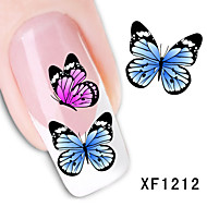 30sheets  Mixed  Beautiful Butterfly DIY Water Transfer Sticker Nail Art STZ蝴蝶30