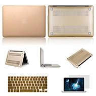 najlepiej sprzedających się solidną aluminiową obudowę koloru macbook z pokrywą klawiatury i ekranu flim dla MacBook Pro 15,4 cala